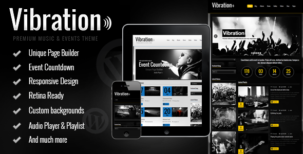 WordPress themes for DJs, music artists, bands, radio stations and ...